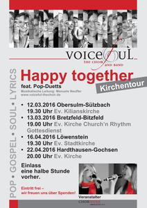 Voiceful the choir - Kirchentour 2016