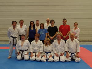 Anfängertraining Goju-Ryu Karateverein Eppingen