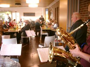 Die Friends of Dixieland im Mehrgenerationenhaus Heilbronn Fotograf: privat ph