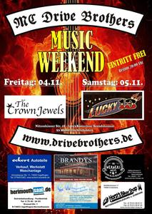 6. Musik Weekend des Drive Brothers MC