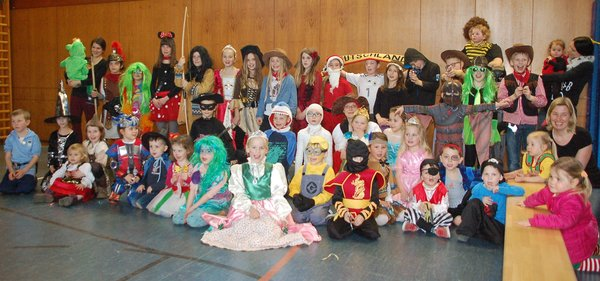 Kinderfasching in Kocherstetten