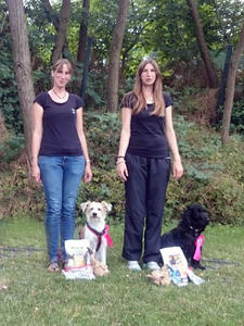 Rally Obedience Turnier in Mannheim-Feudenheim am 16.07.2017