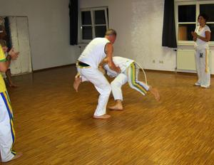 Capoeiratraining in Künzelsau